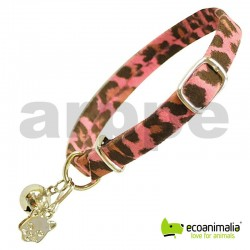 COLLAR GATO MINI LEOPARD