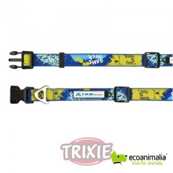 Collar X-TRM, L-XL, 48-66cm, 25mm, Azul-Verde