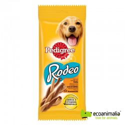Snacks para perros Rodeo pollo 4 espirales