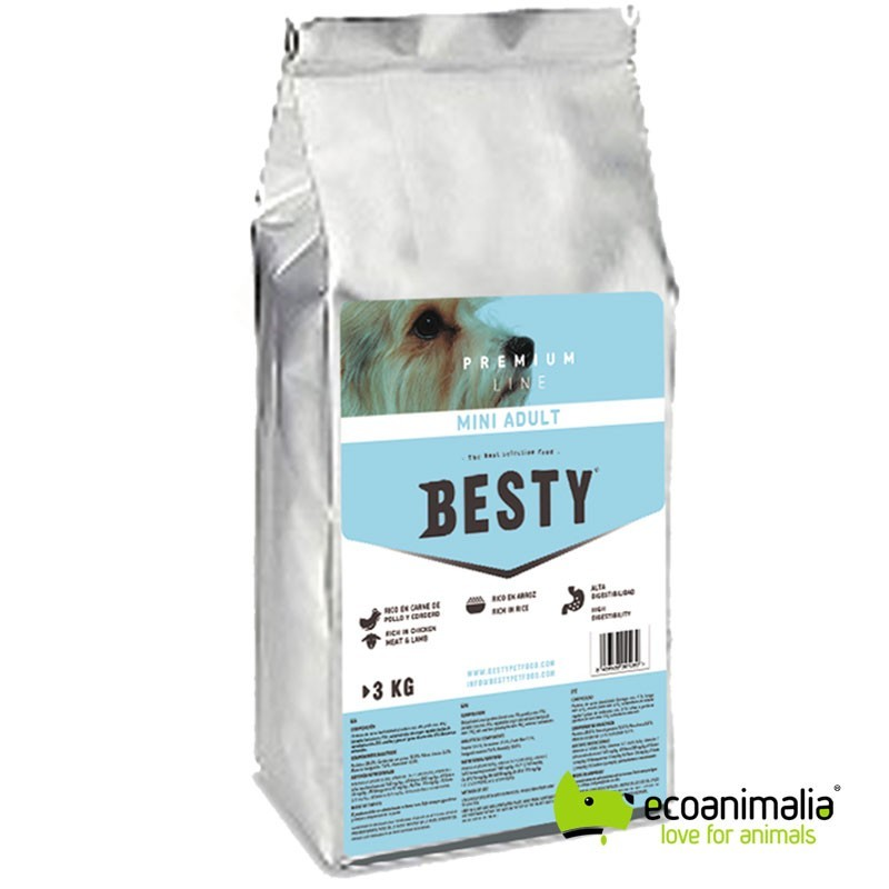 Pienso para perros Besty Mini Adult