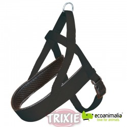 Petral nylon Confort Prem. S-M, 30-50cm,25mm,Negro