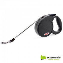 flexi CLASSIC BASIC MINI, hasta 8 kg, Negro